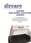 Adsorb Mini Dust/Fume Cabonet Brochure