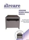 Adsorb Down Draught Bench Brochure