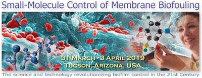 SMALL MOLECULE CONTROL OF BIOFOULING CONFERENCE-0