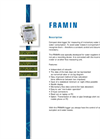 Framin - Water Loss and Consumption Measuring Instrument  Brochure
