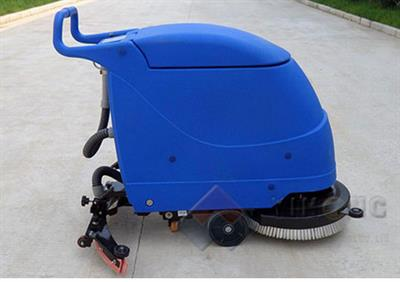 Model YHFS-580H - Hand Push Floor Scrubber