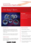 KnitMesh - Air Bag Filters - Brochure