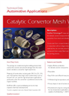 KnitMesh - Catalytic Converter Mesh Wraps - Brochure