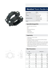 Horizon MemLine - Model 250 PSI (21bar) - Plastic Flexible Pipe Coupling - Datasheet