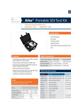 Horizon AikeSDI - Model HAK-PU-110 & HAK-PU-120 - Portable SDI Test Kit - Datasheet