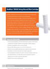 Horizon RealMax - Model RMSW - String-Wound Filter Cartridge - Datasheet