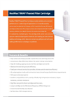 Horizon RealMax - Model RMAP - Pleated Filter Cartridge - Datasheet