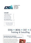 3rd Quarter Training Brochure