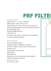 Model FRF Series - Top Mount - Fiberglass Tank Brochure