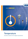 Model 902020 - Screw-in RTD Temperature Probe with Form B Terminal Head Brochure