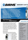BIRNS - Emergency LED Lighting Fixture Brochure