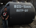 Bio-Save  - Model BSTP-4 - Bio Save waste Water Treatment Tank for 4 EP