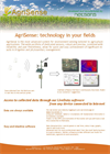 AgriSense - Wireless Sensor Networks for Generic Agriculture – Brochure