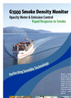 Model G1000 - Smoke Density Monitor Brochure