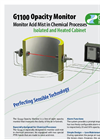 Model G16 - Smoke Density Monitor Brochure