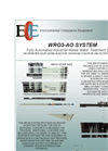Model WR 3 - Multi-Media Filtration Units Brochure