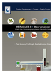 HERACLES ultrafastGC analyser with 2 columns FID Trap