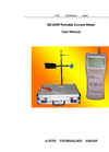 A.YITE - Model GE-104P - Portable Handheld Flow Current Velocity Meter User Manual