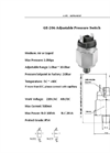 GE206 Adjustable Pressure Switch