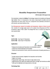 GE-371 Humidity Temperature Transmitter CMOSens