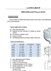 A.YITE - Model GE-921 - Air Differential Pressure Flow Switch User Manual