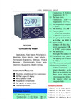 A.YITE - Model GE-133 - Conductivity Hardness Analyzer Monitor Meter Datasheet