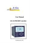 A.YITE - Model GE-132 - PH & OPR Analyzer Monitor Meter User Manual