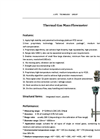 Thermal Gas Mass Flowmeter Datasheet