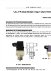 GE-379 Dual Metal Temperature Switch