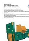 MHM - Model XL 60 - Horizontal Baler Data Sheet
