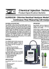 Seaco SUPERIOR - Model SA-100 (CLF) - Chlorine Residual Analyzer - Specifications