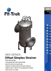 SBO Series - Offset Simplex Strainer Brochure