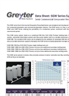 SGW Series Semi Commercial Greywater Recycling System - Data Sheet