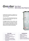 BDD-30 Blue Dye Dispenser Data Sheet