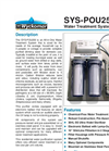 Wyckomar - SYS-POU250 - All-in-One Water Treatment System - Brochure