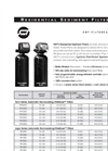 SWT FilterEase - Residential Sediment Filters Datasheet