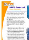 WES Dosing System - DS200 - Fully enclosed Chemical dosing unit with 200 Litre storage capacity & integral bund
