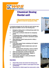 WES - DS1650 - Chemical Dosing Rental Unit