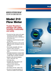 Rheotherm - Model 210 - Flow Meter Brochure