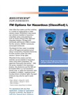 Rheotherm - FM Options For Hazardous (Classified) Locations Brochure
