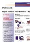 Rheotherm - Liquid and Gas Flow Switches / Monitors Brochure