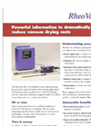 RheoVac - DR - Vacuum Drying Monitors Brochure