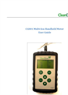 CG001 Multi-Ion Handheld Meter - User Guide