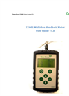 CG001 Multi-Ion Handheld Meter - User Guide V1.0