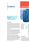 Pegasus - - Water Softeners  Brochure
