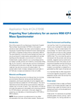Preparing Your Laboratory for an aurora M90 ICP-MS Mass Spectrometer