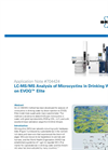 LC-MS/MS Analysis of Microcystins in Drinking Water