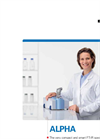 Bruker - Model ALPHA - FT-IR Routine Spectrometers - Brochure