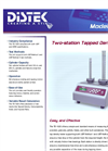 Dissolution Physical Properties Tapped Density Measurments: TD-1020 Model – Brochure