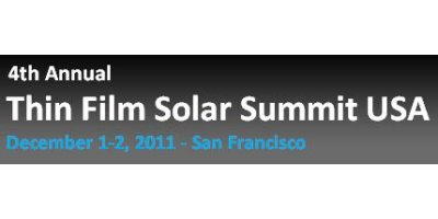 4th Annual Thin Film Solar Summit USA